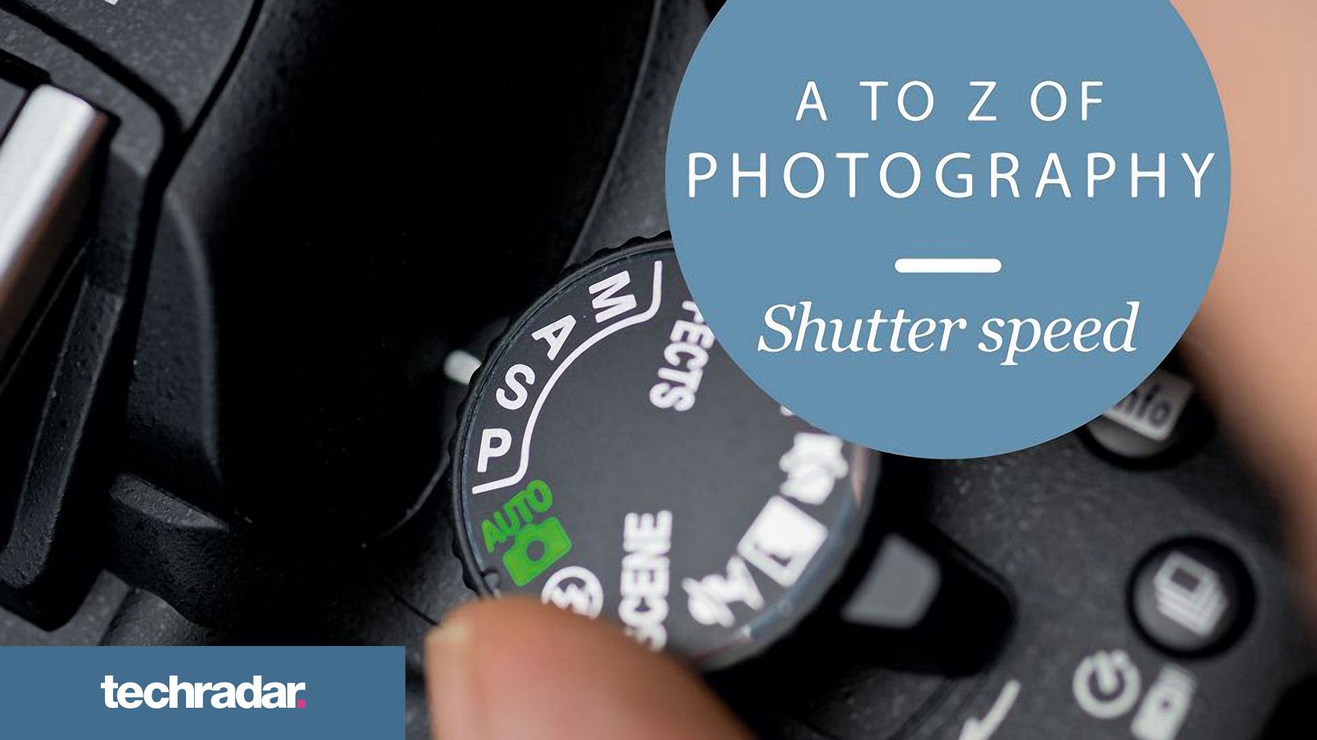 TechRadar A-Z Shutter speed