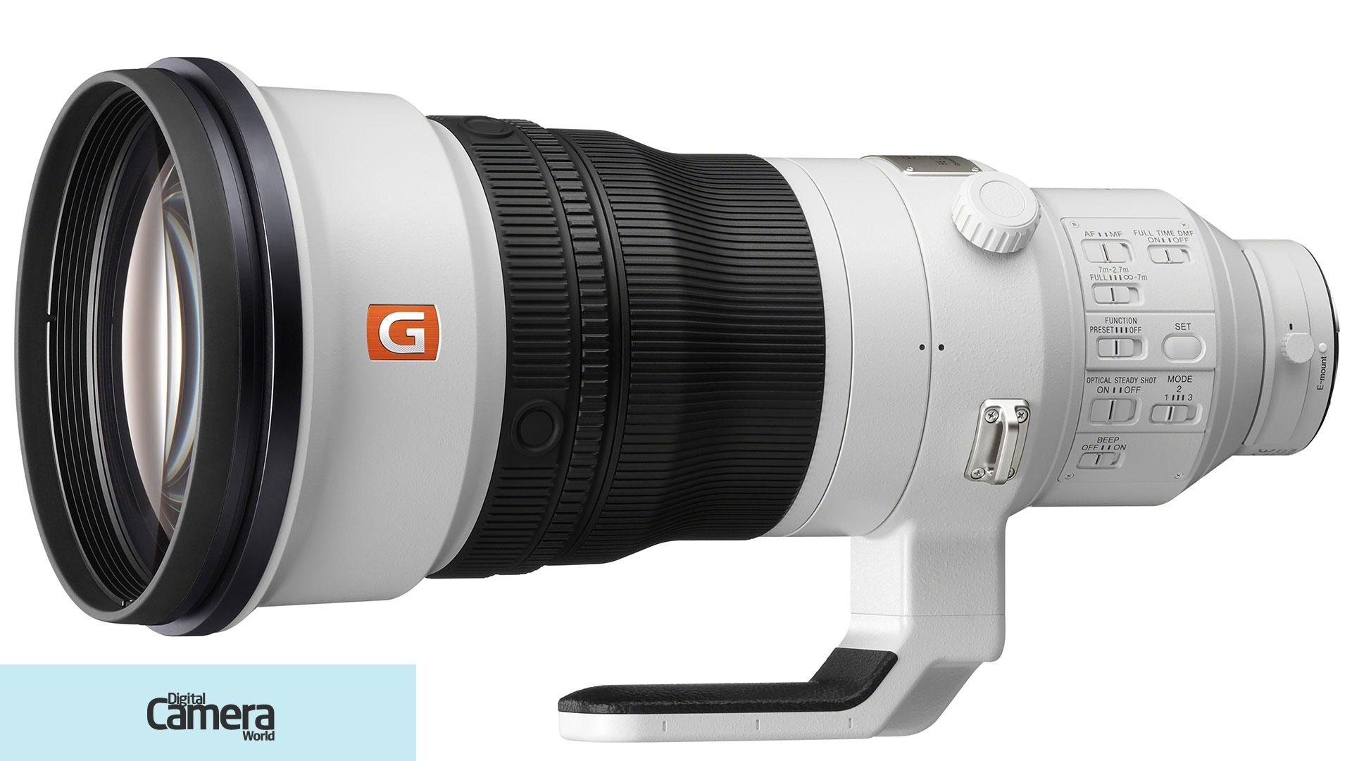 Sony FE 400mm F2.8 GM OSS super-telephoto lens announced